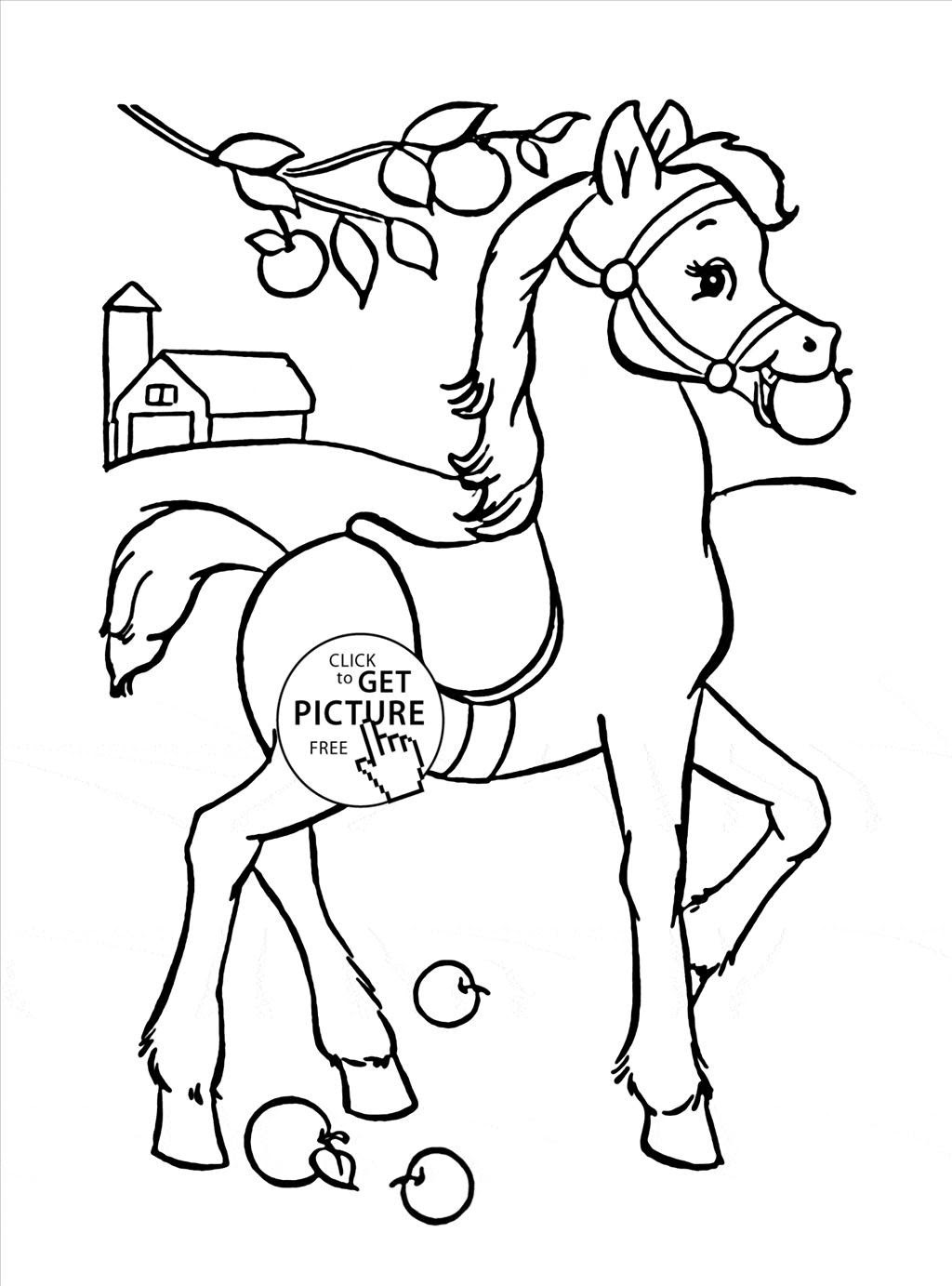 Appaloosa Horse Coloring Pages at GetColorings.com | Free ...