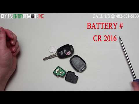 How To Replace A Toyota Rav4 Key Fob Battery 2013, 2014, 2015, 2016