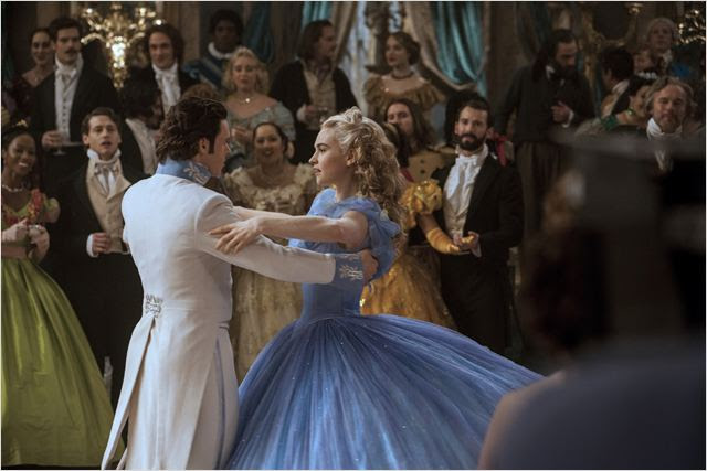 Cinderela : Foto Lily James, Richard Madden