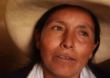 """""""Soy pobre y analfabeta, pero lucharé por nuestras montañas"""""""