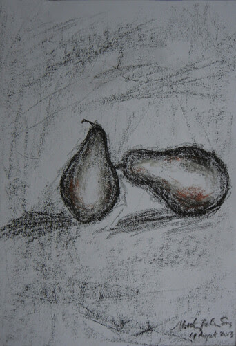 Pears Drawing
