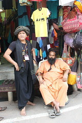 Dam Madar Malang And The Sadhu In  Peace at Pushkar by firoze shakir photographerno1