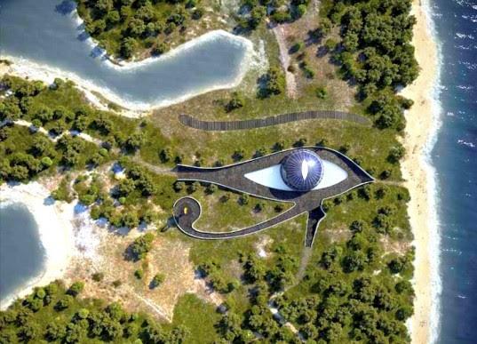 "Perierga.gr - To επιβλητικό σπίτι- ""μάτι"" της Naomi Campbell!"