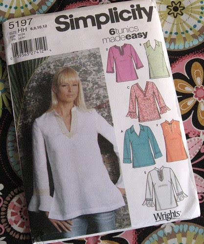 tunic pattern
