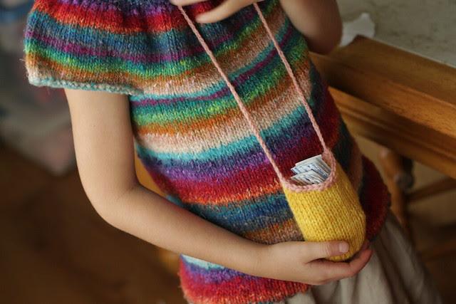 her juan diego medicine pouch (loved it!)
