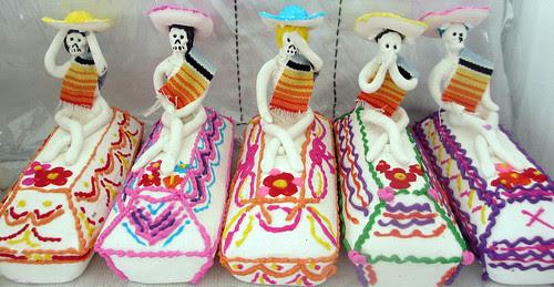 San Miguel de Allende. Sugar sculpture for the altars