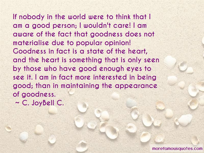 I Am A Good Person Quotes Top 39 Quotes About I Am A Good Person