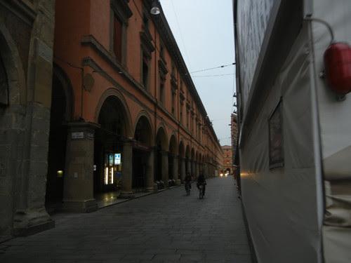 DSCN4370 _ Via dell'Archiginnasio, Bologna, 18 October