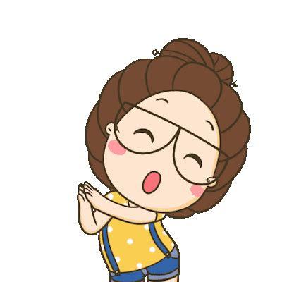 cute asia girl animated  binh pham
