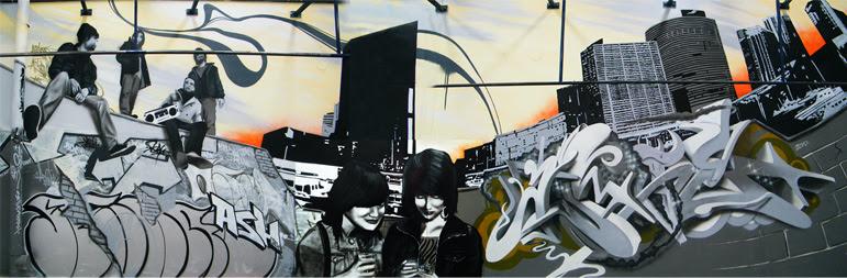 Gym Mural Artwork Custom Street Graffiti Or Painted Murals