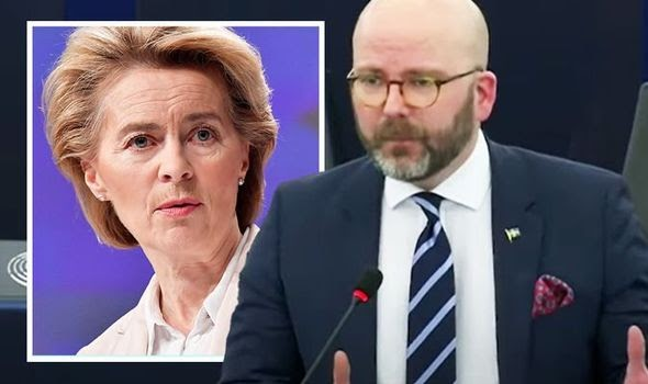 Swedish MEP turns on 'bullying' Brussels rivals - admits UK being targeted for Brexit