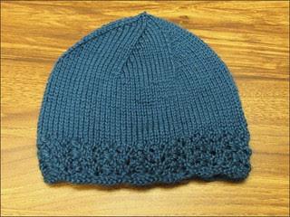 Lacy Blue Hat