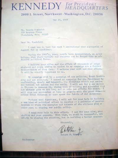 Letter from Kennedy JPG