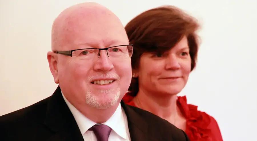 Geoff Tunnicliffe y su esposa. Foto: SEK/Thomas Flügge (CC BY-NC 2.0)