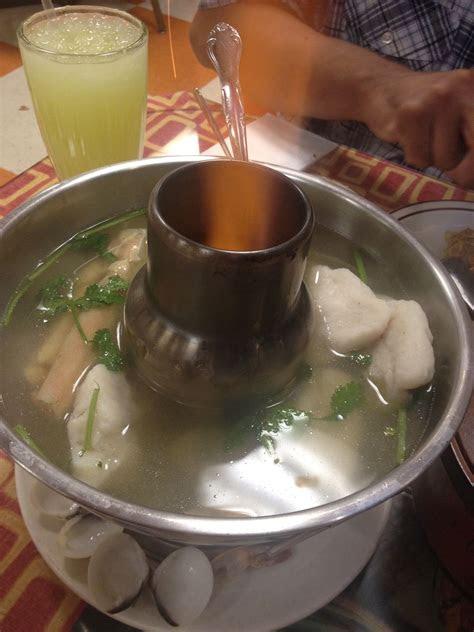 thai seafood soup ive   la