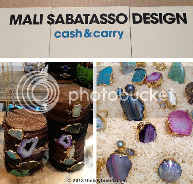 Mali Sabatasso stone jewelry