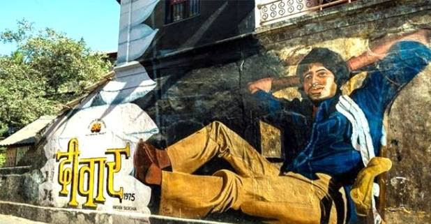 Mumbai is a city of astounding graffiti art…..Have a look inside!!