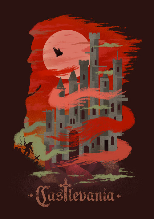 Castlevania by Scott Balmer
