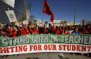 Los Angeles teachers strike for higher pay, 640,000-student system shuts