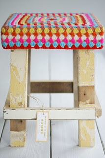 wood & wool stool julie paris