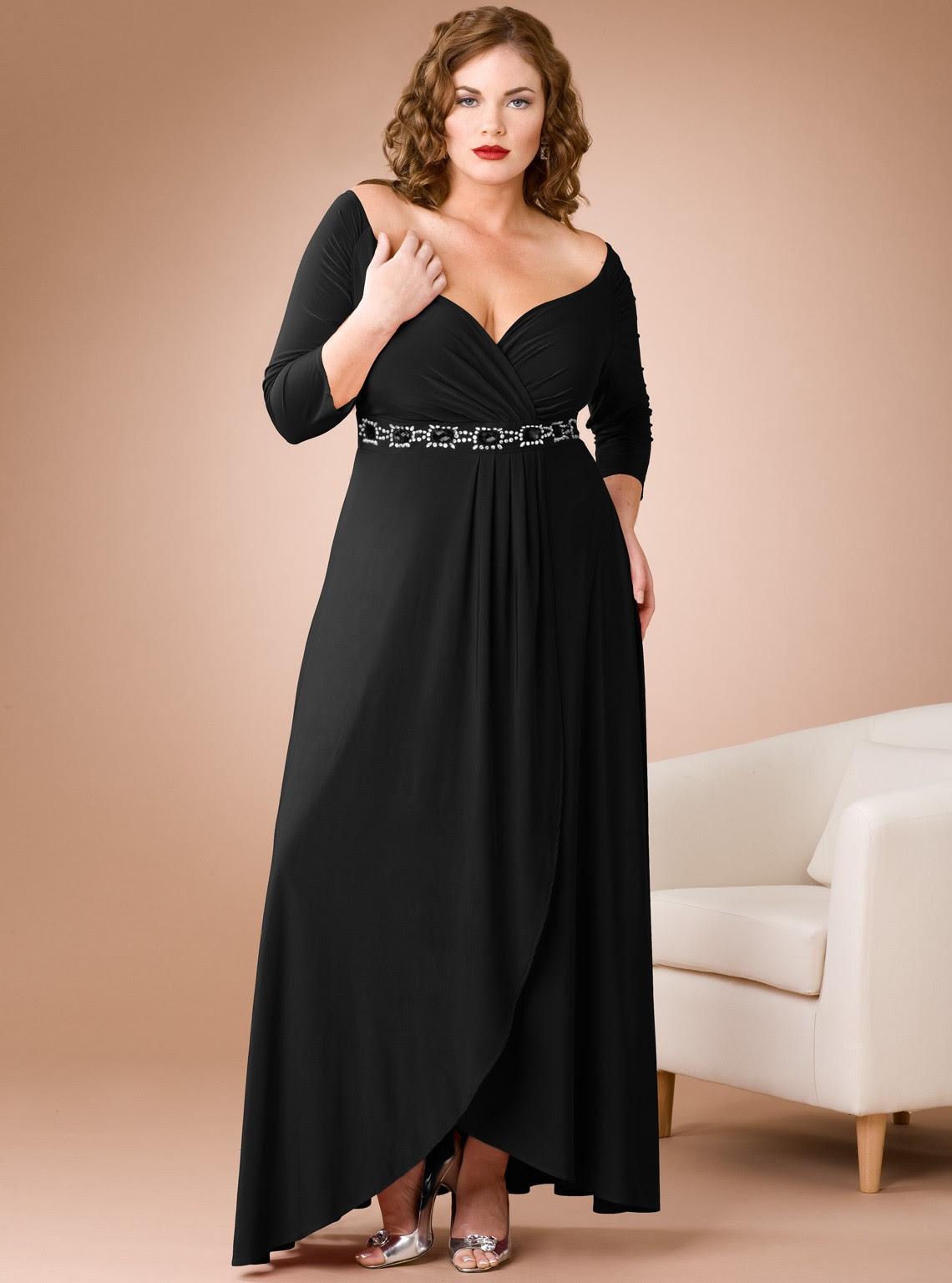 Plus size evening dresses manchester