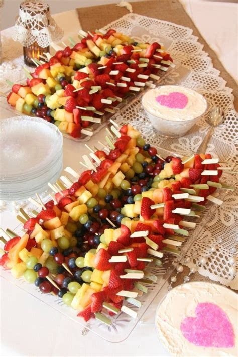 Best 25  Bridal shower snacks ideas on Pinterest