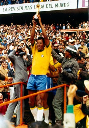 Carlos alberto Torres Brasil 1970 (Foto: Agência AP)