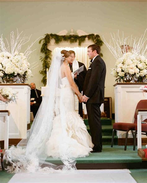 A Magical Christmas Themed Wedding In West Virginia