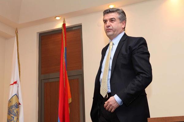 Yerevan mayor Karen Karapetyan