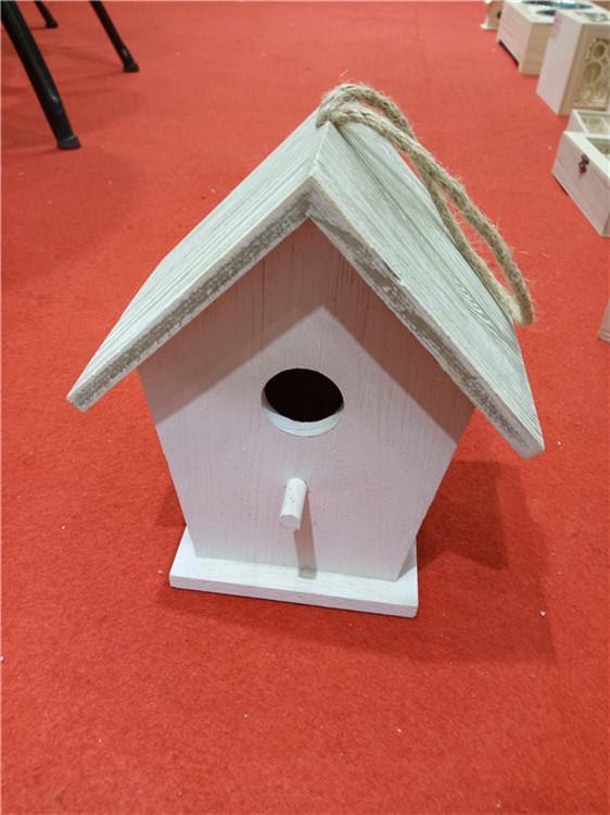 çin Resim Ahşap Kuş Evi Fabrika üreticiler Ve Tedarikçiler Luyi Ahşap
