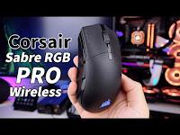 """Elime çok iyi oturdu, sensörü de 650IPS! """"Corsair Sabre Pro RGB Wireless incelemesi"""" - Donanım Haber"""