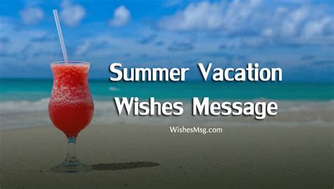 Summer Vacation Wishes Messages and Quotes   WishesMsg