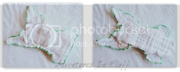 Green Mountain Diapers - Cloth-eez Workhorse Fitted - Inside and Outside