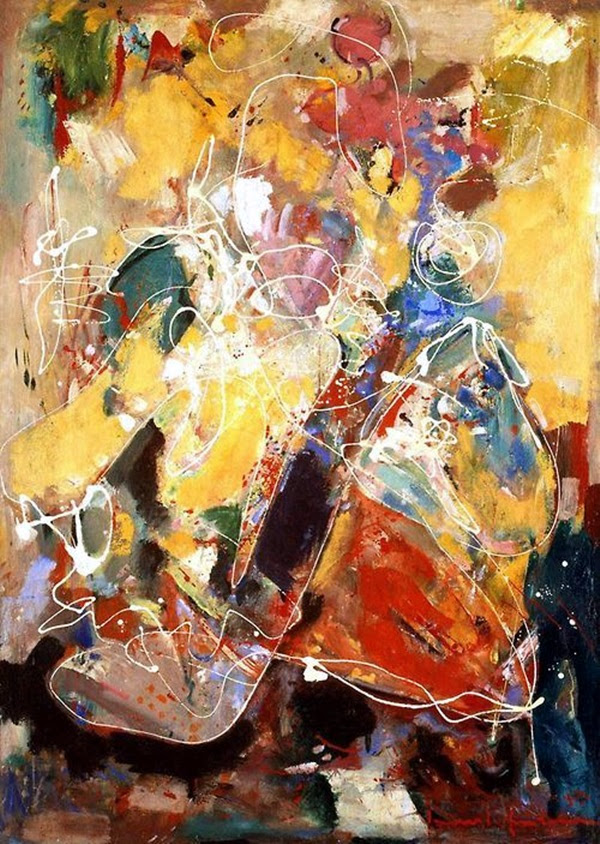 Beautiful Examples of Abstract Expressionism Art Works (18)