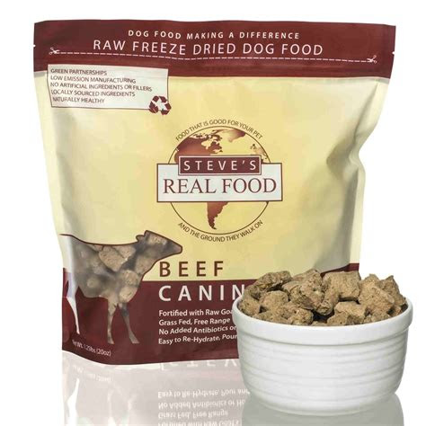 steves real food beef recipe freeze dried dog food