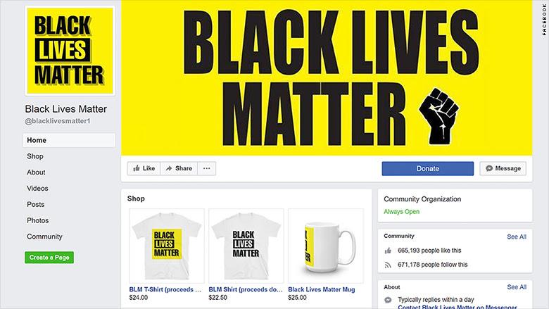 black lives matter facebook fake 2