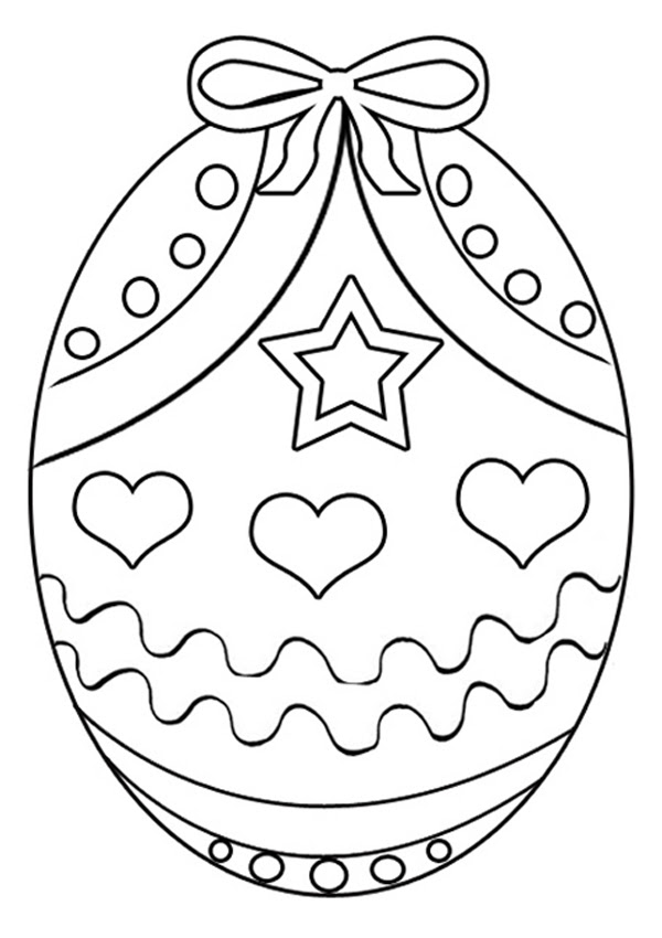 Detailed Easter Egg Coloring Pages at GetColorings.com ...