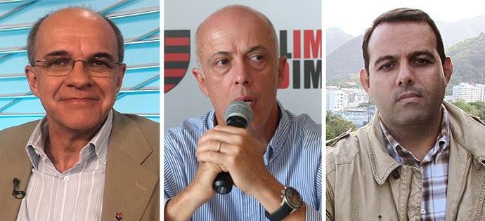Candidatos Flamengo (Foto: GloboEsporte.com)