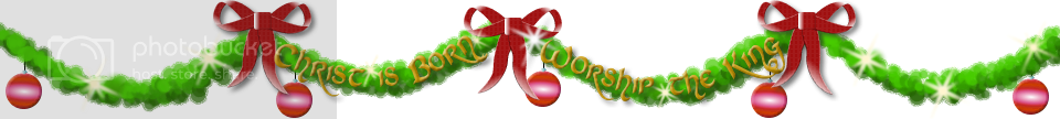 Christmas Decorations at Rich Gifts Graphics & Blog Design for Christian Ministry