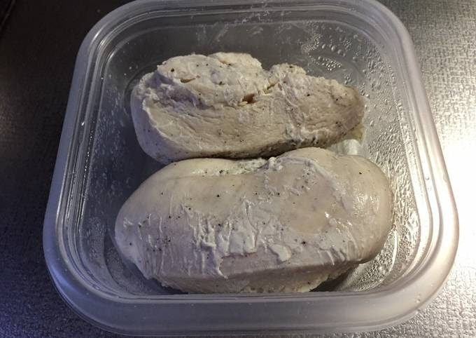 Recipe of Speedy Steamed Chicken Breast