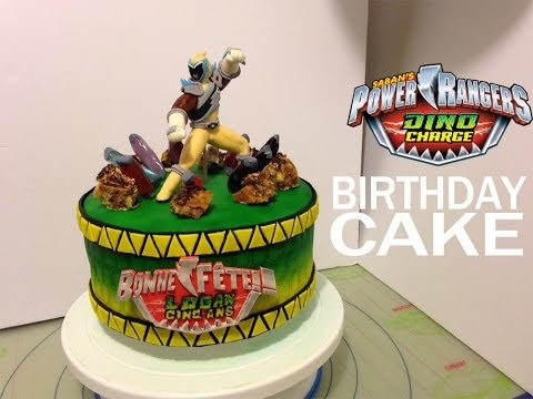 Cool Power Rangers Megaforce Cake 04 Mainan Figur Funny Birthday Cards Online Inifodamsfinfo