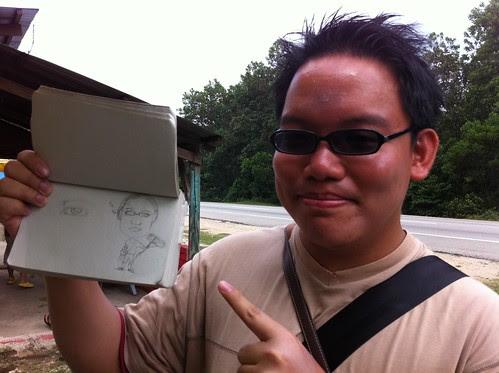 Fern's caricature of me