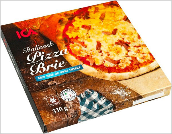 ICA Italian Packaging for Pizza 1 25+ Sour & Spicy Pizza Packaging Design Ideas