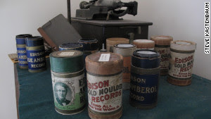 Edison Wax Cylinders image from Bobby Owsinski's Big Picture production blog