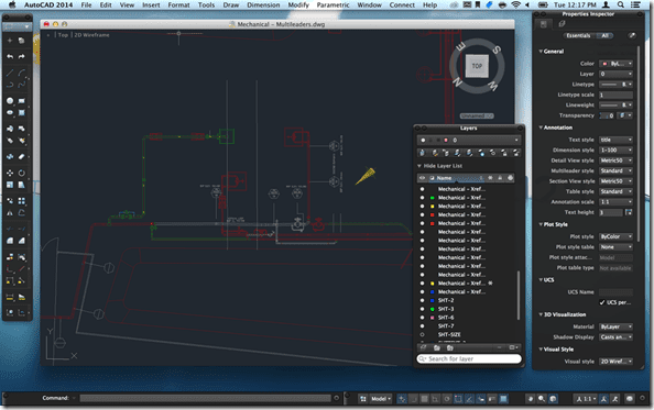 AutoCAD 2014 for Mac