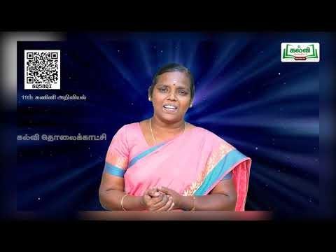 11th Computer Science இயக்க அமைப்பின் கோட்பாட்டு கருத்துக்கள் பாடம் 4 பகுதி 2 Kalvi TV