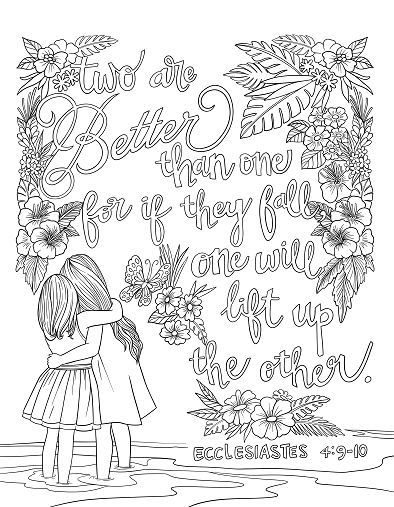 Cool Scripture Coloring Pages