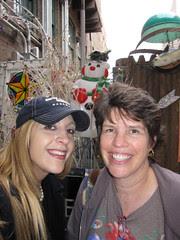Me and Deborah Antiquing!