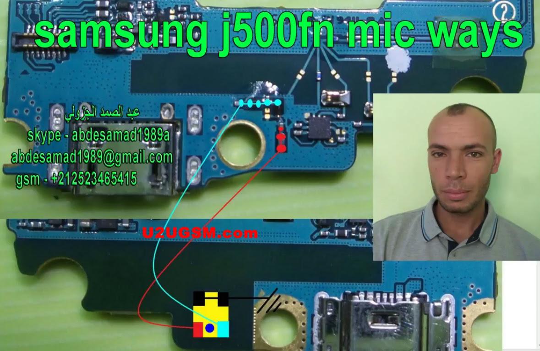 Samsung Galaxy J5 J500FN Mic Problem Jumper Solution Ways Microphone Not Working