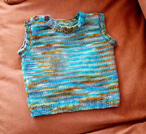 Simon's birthday vest